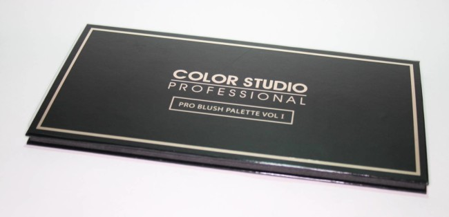 Color Studio Professional Pro Blush Palette Volume 1 Review