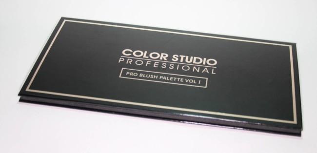 Color Studio Professional Pro Blush Palette Volume 1 Review