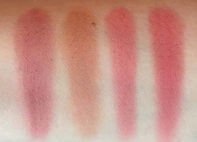 Color Studio Professional Pro Blush Palette Volume 1 Swatches Top Row