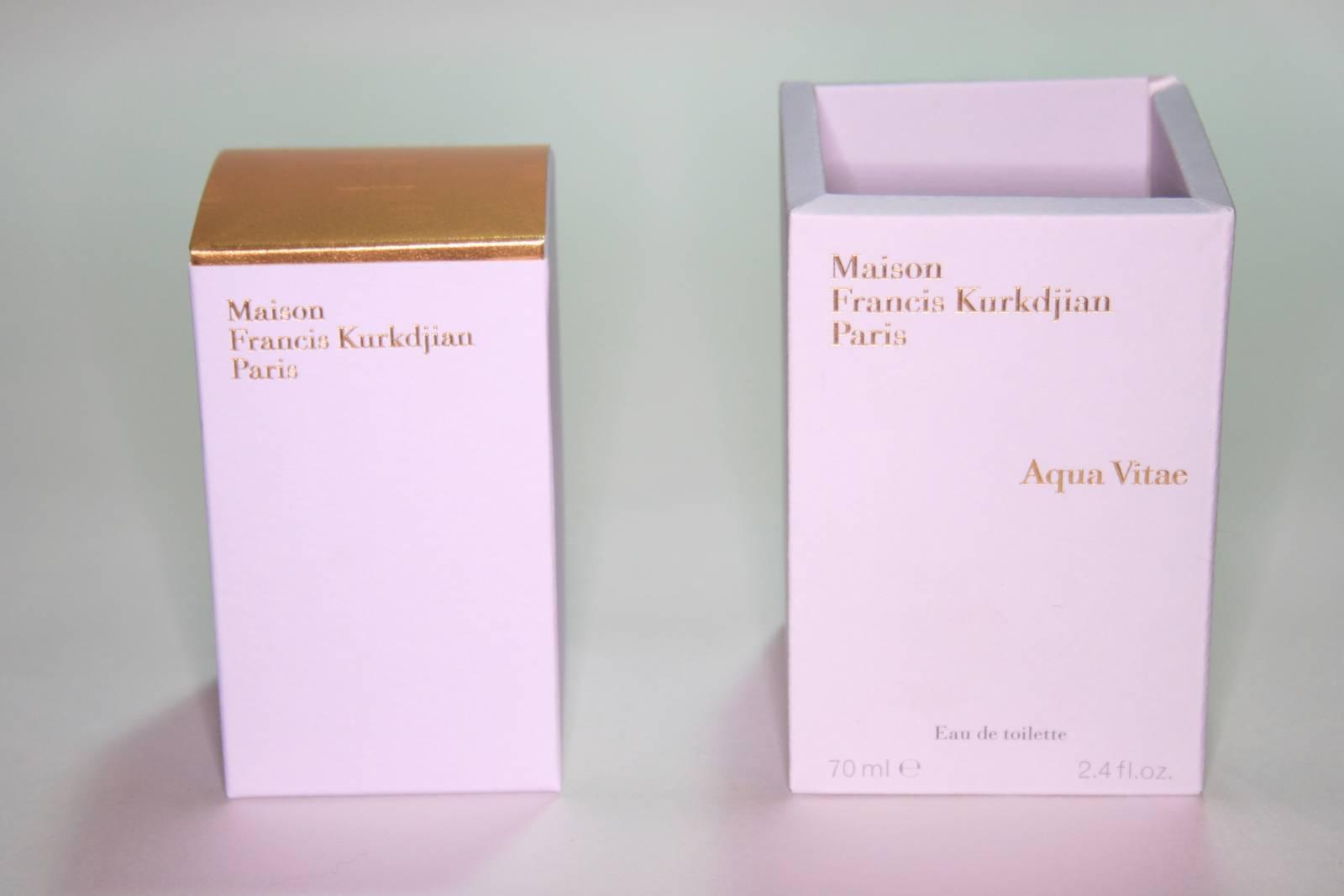 Maison francis kurkdjian paris aqua vitae review beauty for Aqua vitae maison francis kurkdjian
