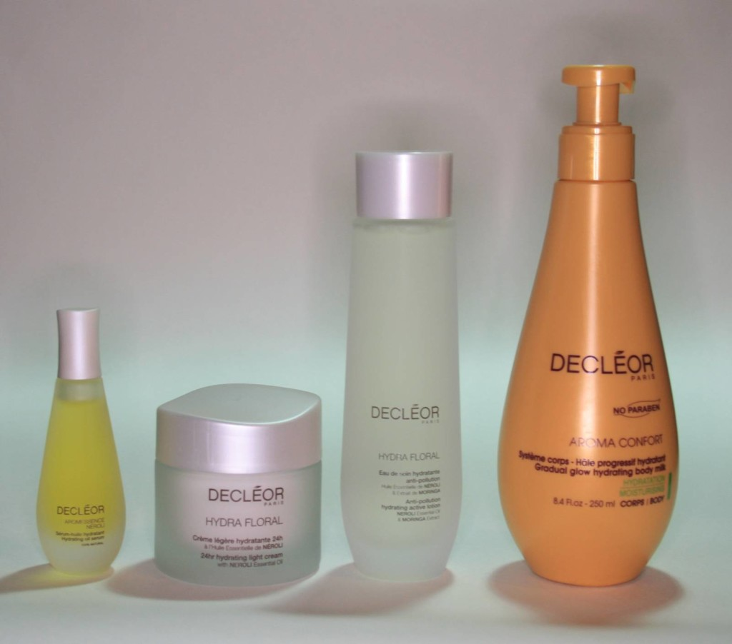 QVC TSV: Decleor 4 Piece Moisture Infusion Collection