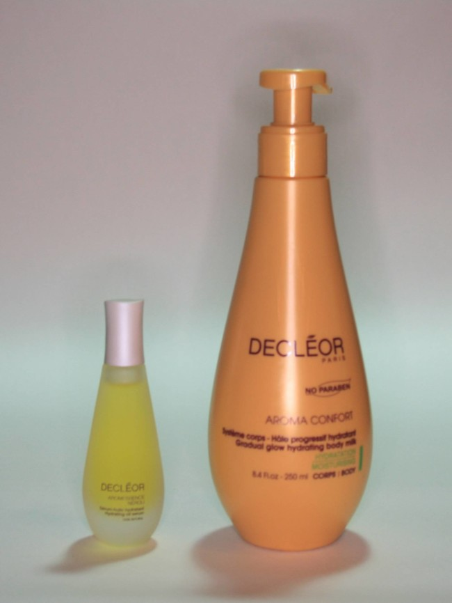 QVC TSV Decleor 4 Piece Moisture Infusion Collection Aroma Confort and Aromessence