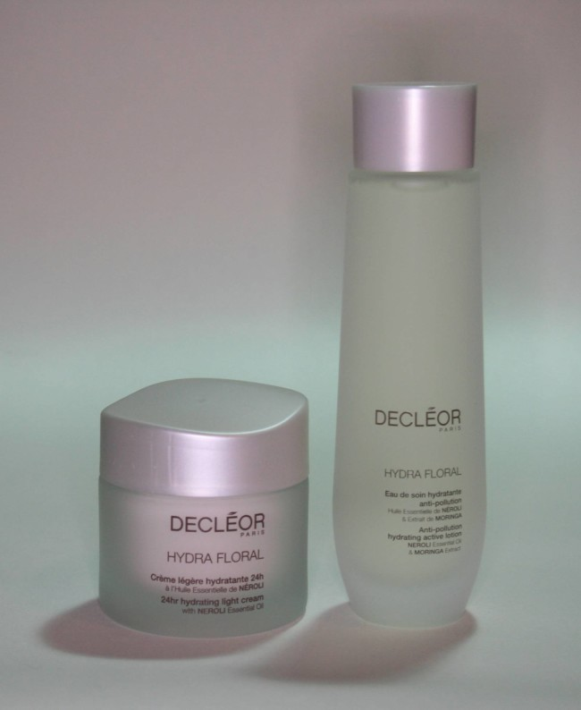 QVC TSV Decleor 4 Piece Moisture Infusion Collection Hydra Floral