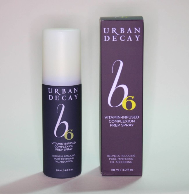 Urban Decay B6 Vitamin-Infused Complexion Prep Spray Review