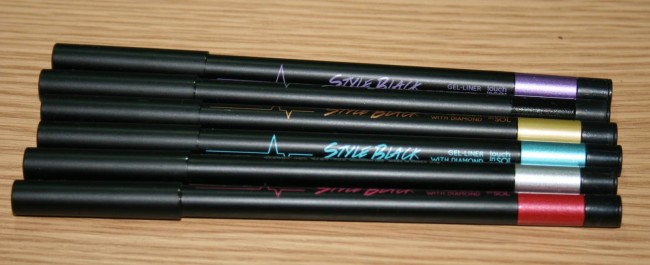GlamourFlare Touch in Sol Glitter Liners Review