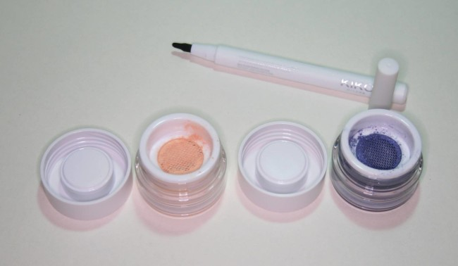 Eye products from the Kiko The Artist Collection