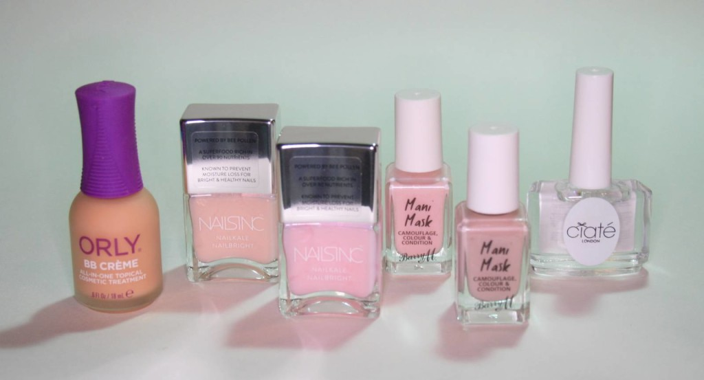 Nail Tints from Nails Inc, Ciate, Orly and Barry M