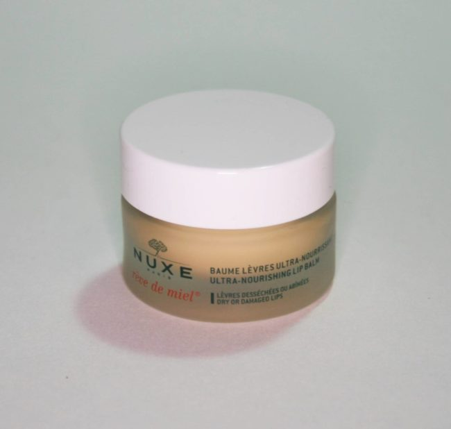 Nuxe Rêve de Miel Ultra-Nourishing Lip Balm Review