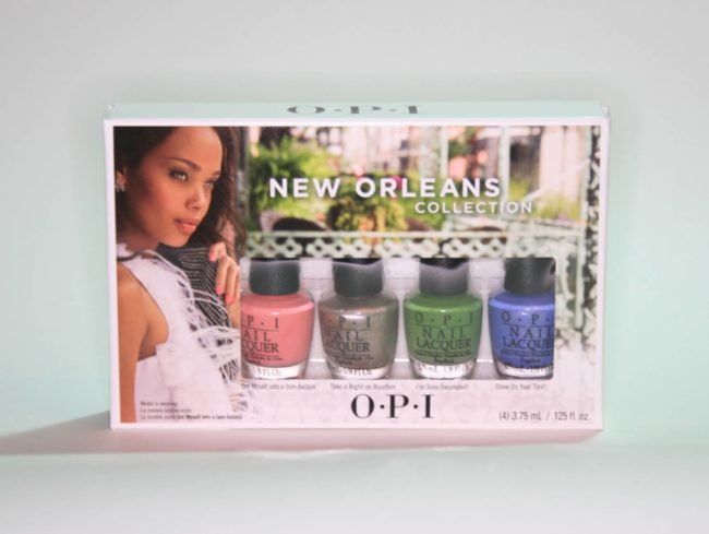 OPI New Orleans Jambalayettes Mini Sets Competition