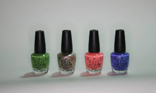 OPI New Orleans Jambalayettes Mini Sets Win