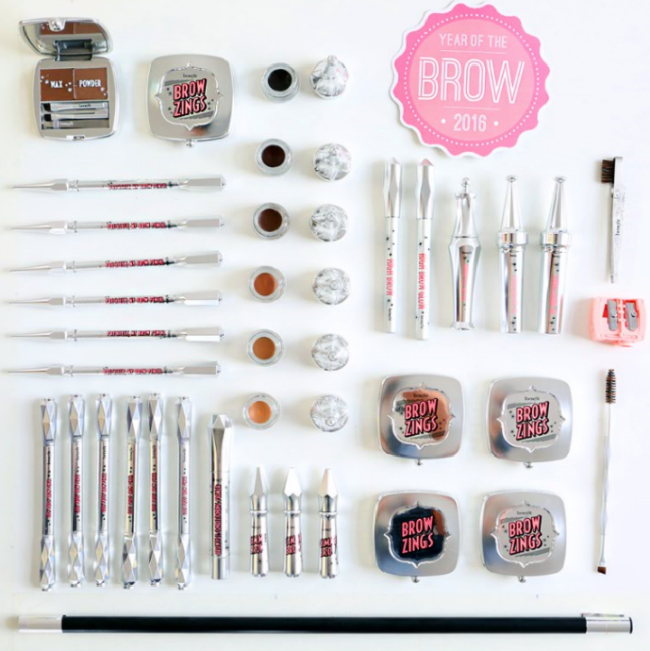 Benefit Brow Collection the whole range