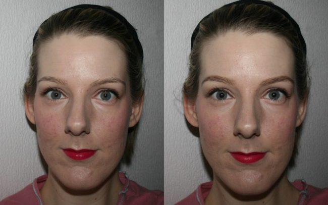 Bobbi Brown Long-Wear Brow Gel Before and After