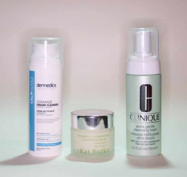 Cleanser Reviews from Kat Burki, Clinique and Dermedics