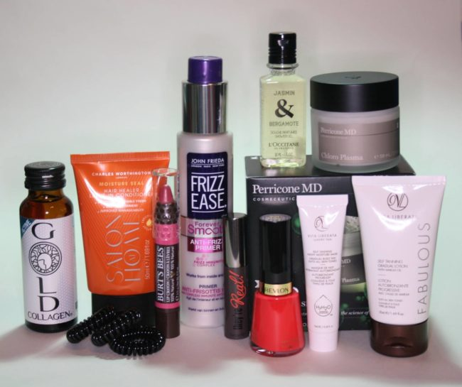 Powder Beauty Drawer Issue 2 Contents