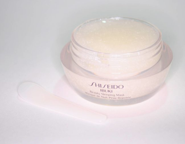 Shiseido Ibuki Beauty Sleeping Mask Review