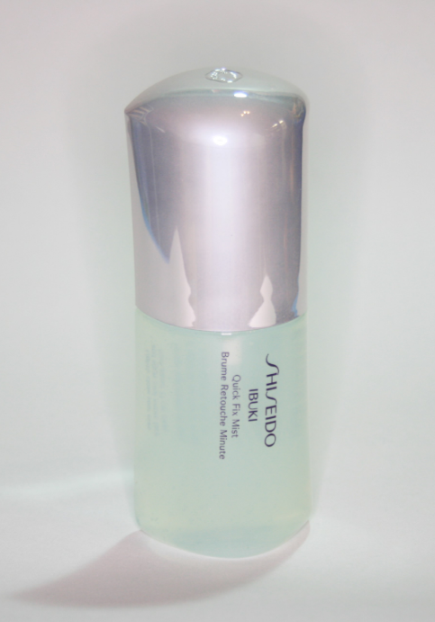 Shiseido Ibuki Quick Fix Mist Review