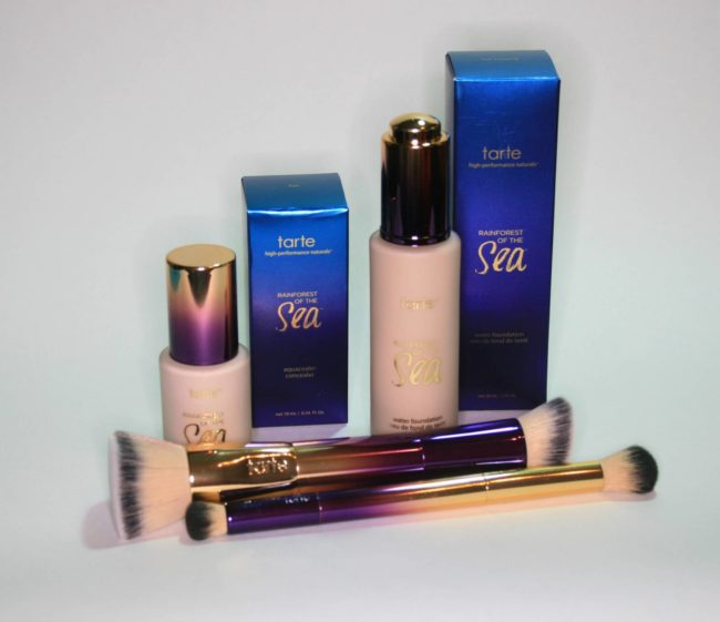 Tarte Rainforest of the Sea Foundation and Concealer Review
