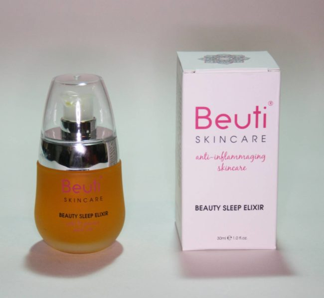 Beauti Skincare Beauty Sleep Elixir Review