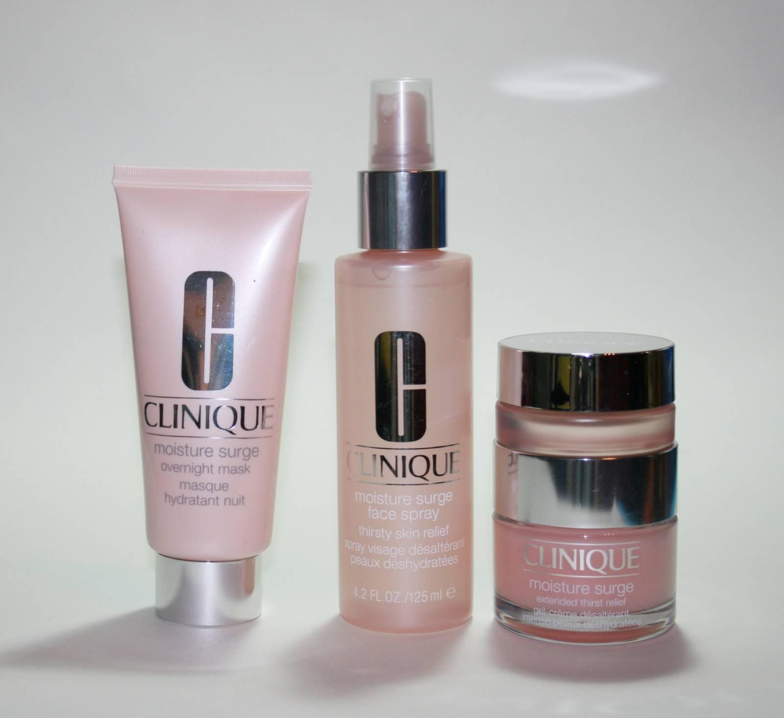 Clinique Moisture Surge Skincare Range