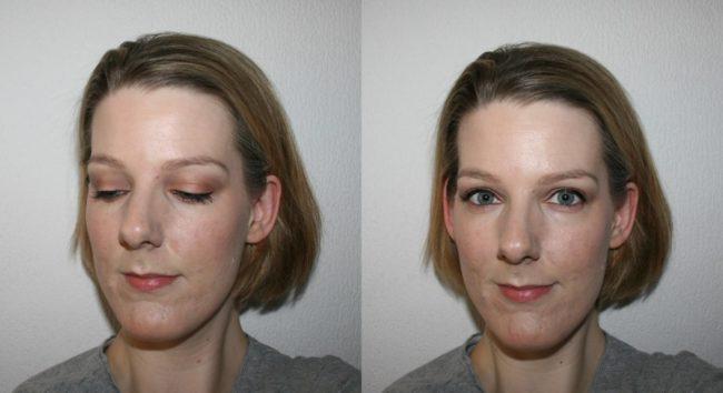 Illamasqua Metamorph Vital Palette and Masquara Gain Before and After