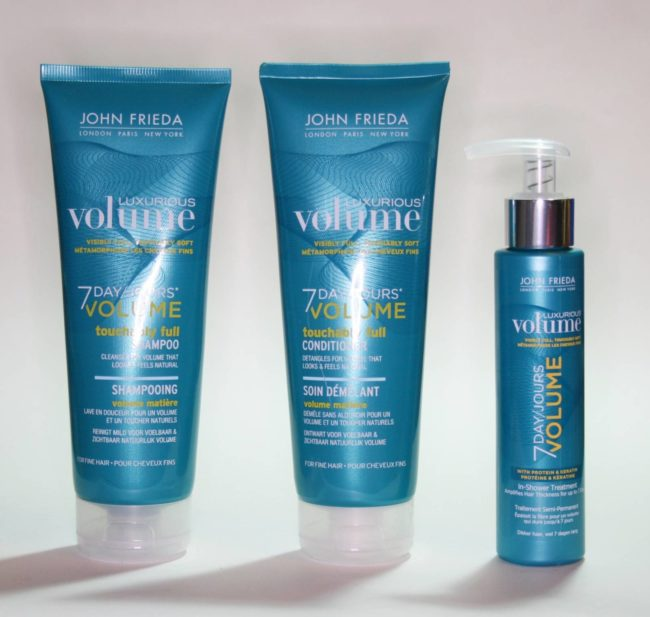 John Frieda 7 Day Volume Review