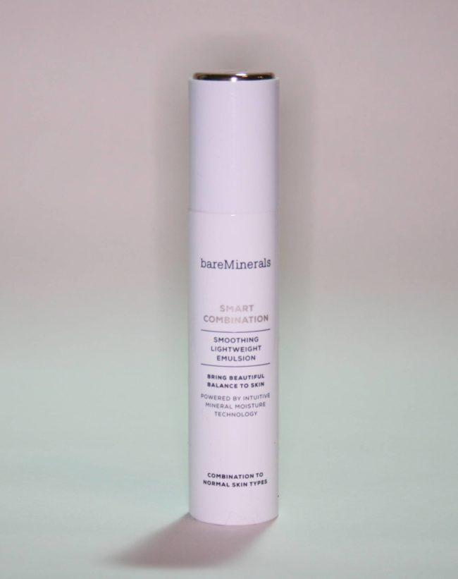 bareMinerals Smart Combination Smoothing Lightweight Emulsion Review Acne
