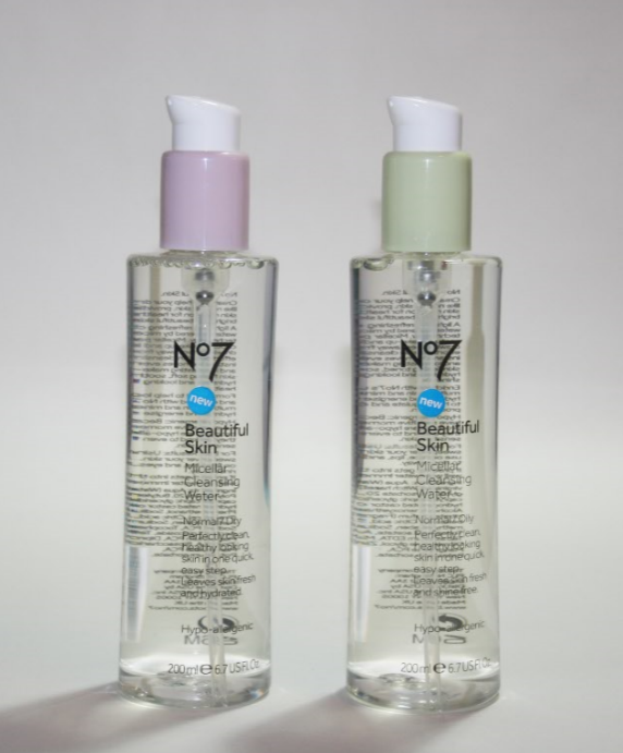 Boots No7 Beautiful Skin Micellar Cleansing Waters Review