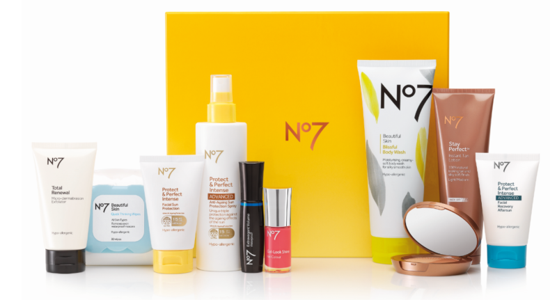 Boots No7 Summer Selection Beauty Deal