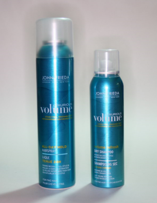 John Frieda Luxurious Volume Styling Products Hair Reviews