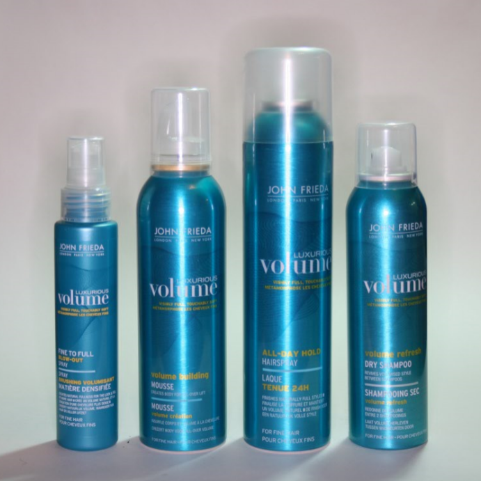 John Frieda Luxurious Volume Styling Products Reviews