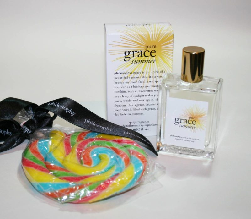 Philosophy Pure Grace Summer Review