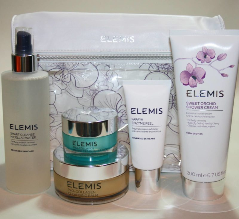 QVC TSV Elemis Skin Rituals Collection Contents