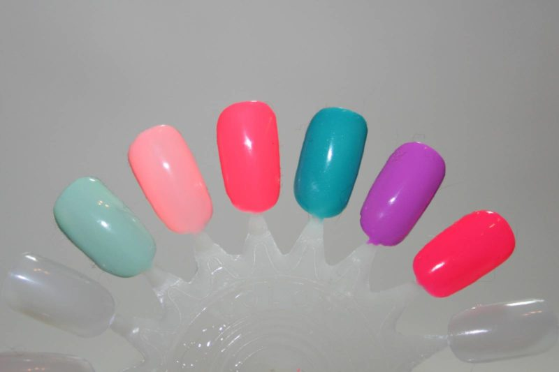 Red Carpet Manicure Escape to Paradise Collection Swatches