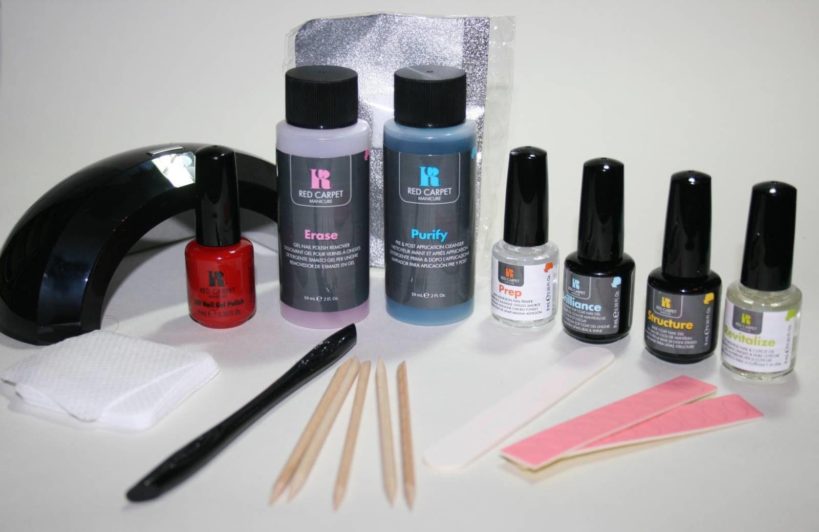 Red Carpet Manicure Starter Kit with Pro Light