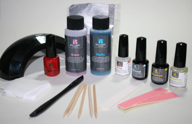 Red Carpet Manicure Starter Kit with Pro Light