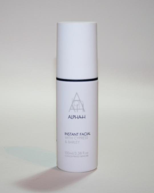 Alpha-H Instant Facial Review