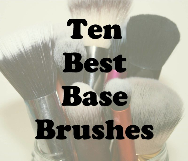 My Top Ten Most Used Base Brushes