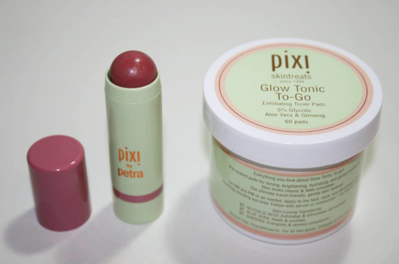 Pixi Multibalms and Glow to Go Pads Summer 2016