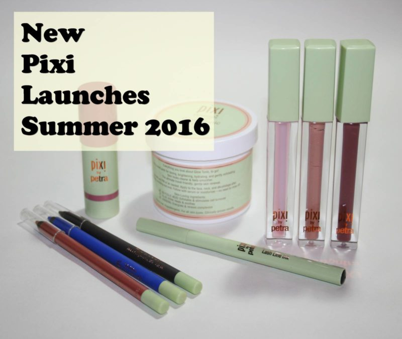 Pixi New Launches Summer 2016