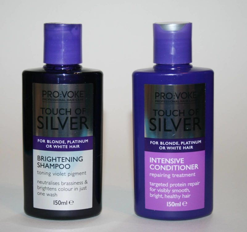Touch of Silver Brightening Shampoo and Intensive Conditioner Review