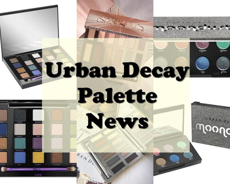 Urban Decay Palette News August 2016