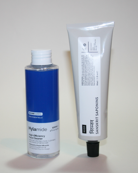 Double Cleansing with NIOD and Hylamide