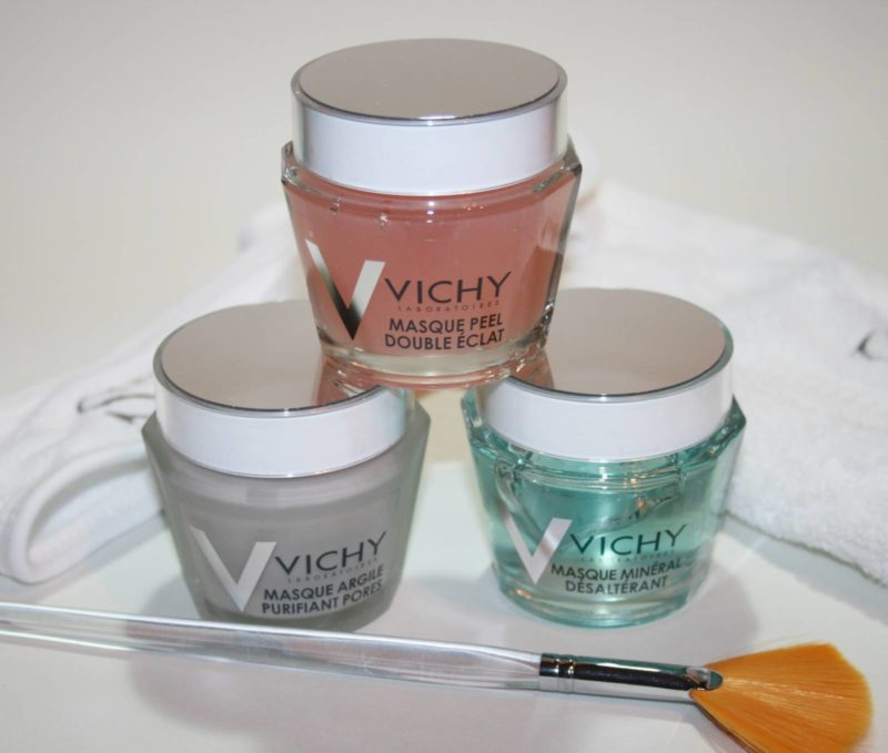 Mask Monday: Vichy Mineral Masks – Pore Purifying, Quenching and Double Glow Peel