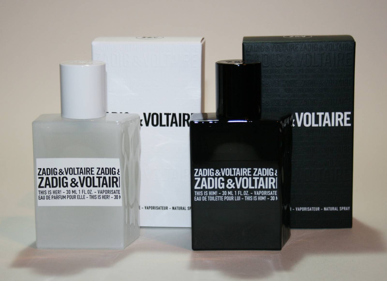 zadig voltaire this is her this is him fragrance review. Black Bedroom Furniture Sets. Home Design Ideas