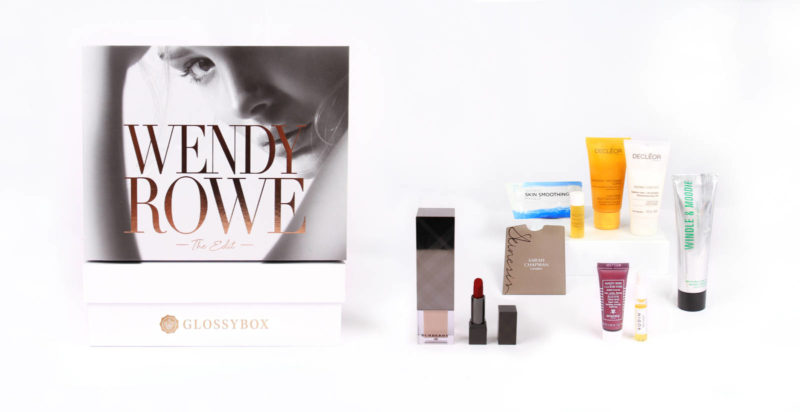 Glossybox x Wendy Rowe Box
