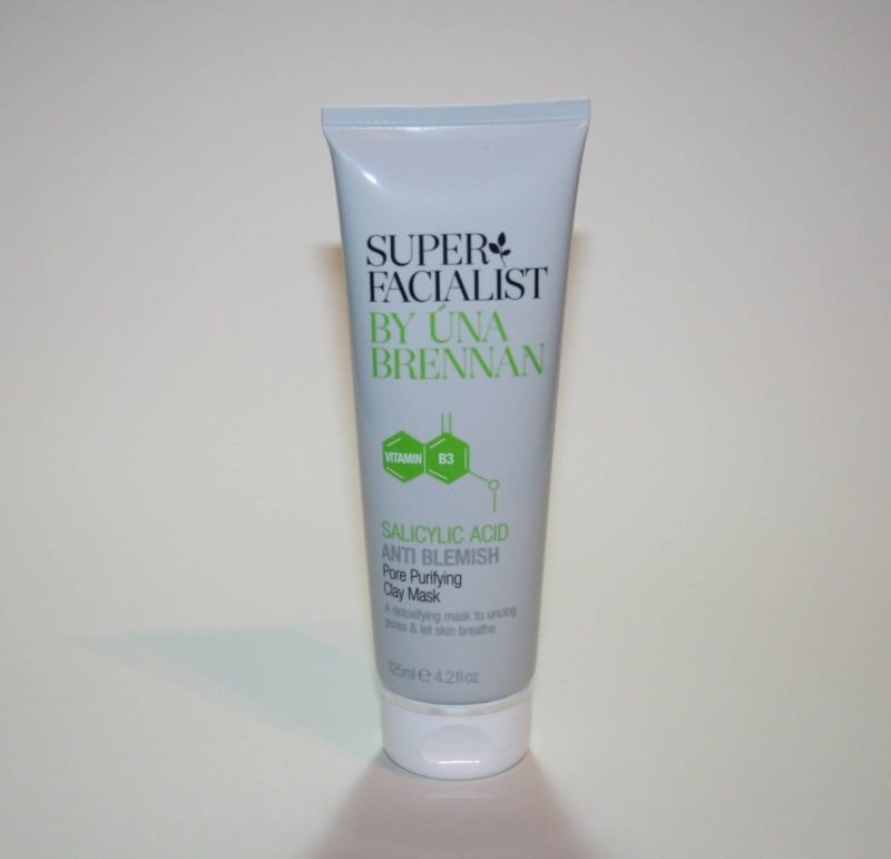 Mask Monday: Superfacialist Salicylic Acid Anti-Blemish Clay Mask