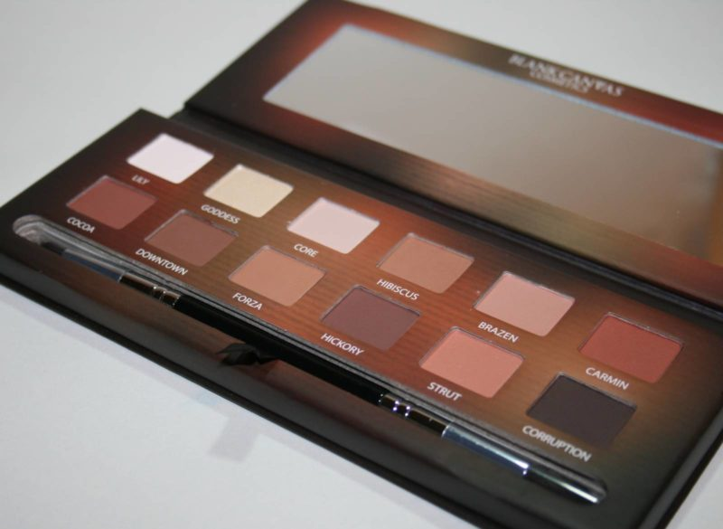 Palette Love: Blank Canvas Cosmetics Master Series, Palette One
