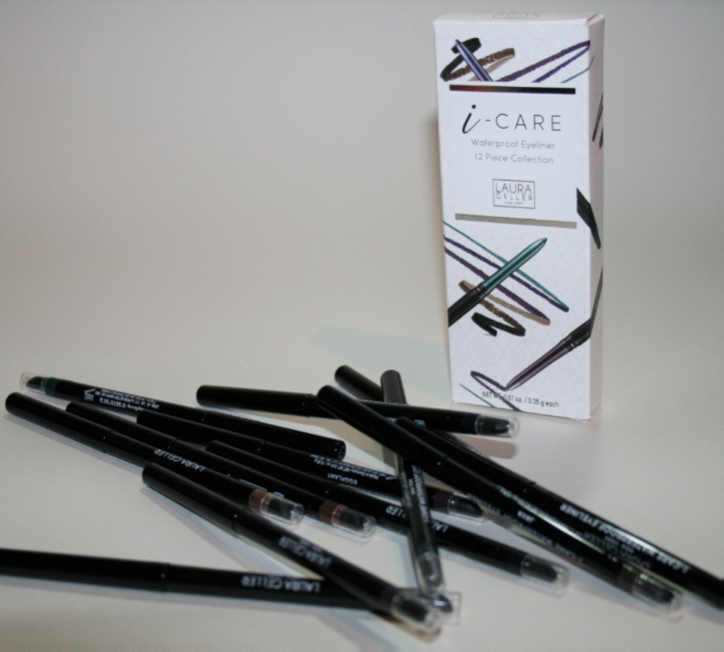 12 Gifts of Christmas: Laura Geller 12 Piece I-Care Eyeliner Library Collection