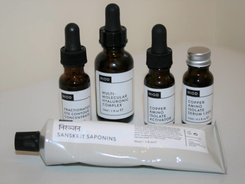 QVC TSV: NIOD 4 Piece Dermal Science Skincare Set