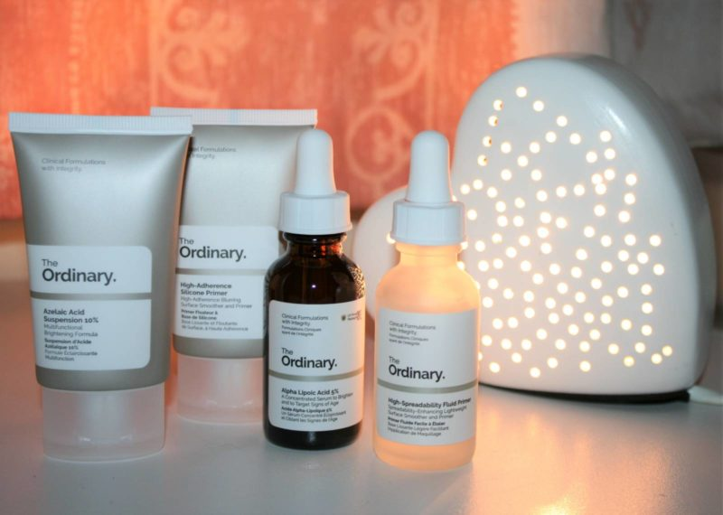 Four New Products from The Ordinary